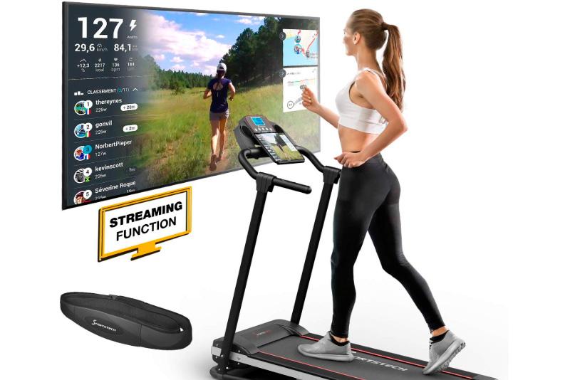 Cinta de correr plegable Sportstech F10