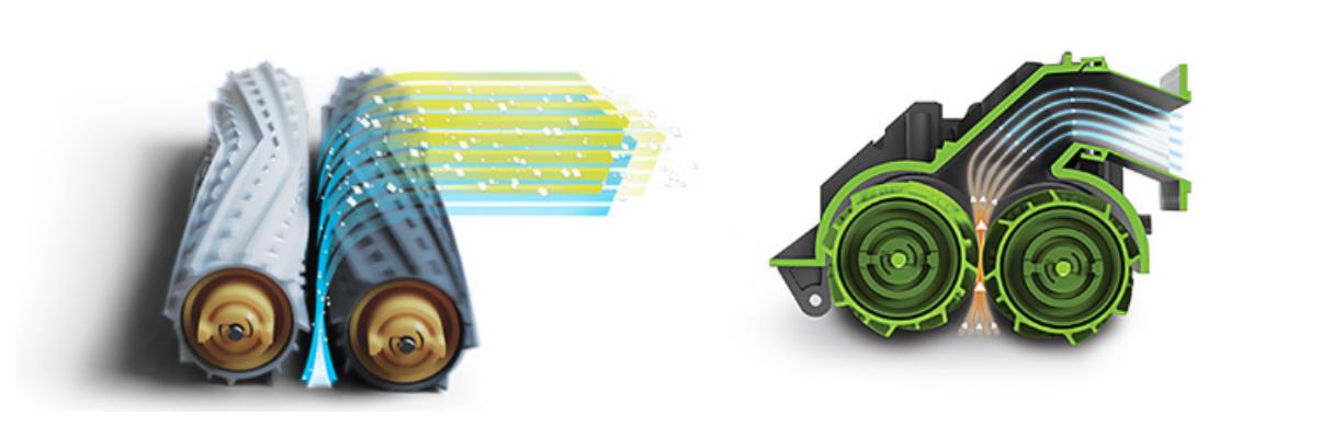 Cepillos antienrredos modelo 876 Roomba