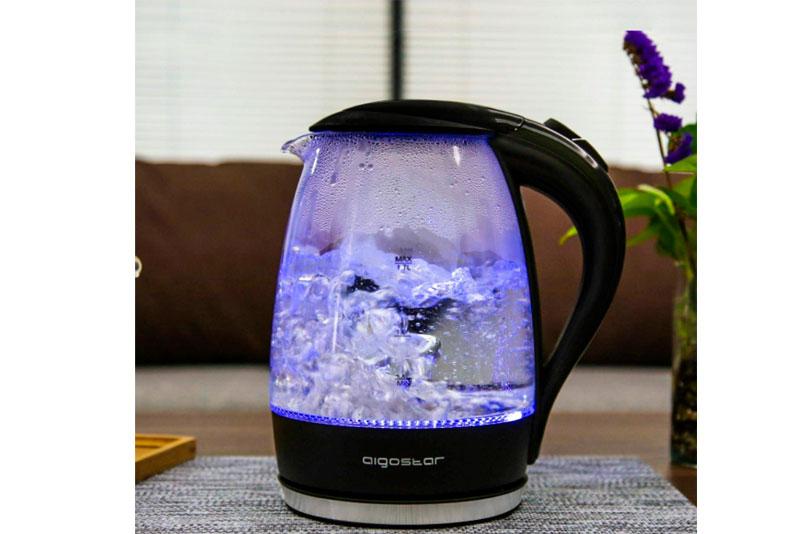 Hervidor de agua cristal Aigostar Adam