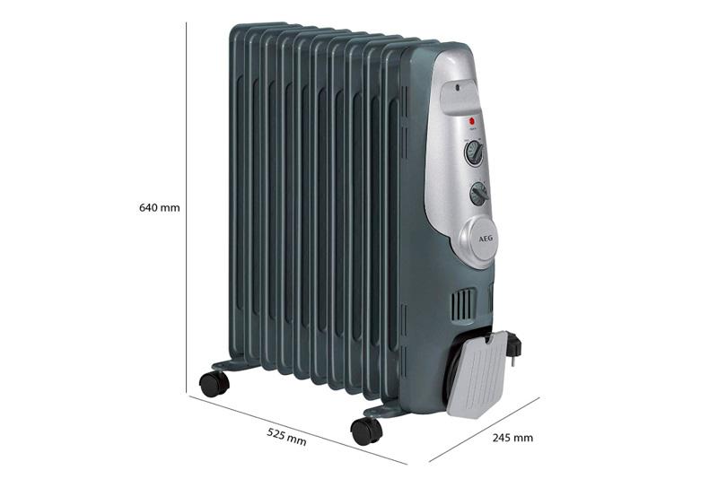Mejor radiador de bajo consumo AEG RA522