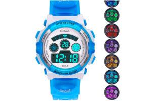 Reloj para niños y niñas de varios colores